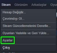 Steam İndirme Hızı Arttırma